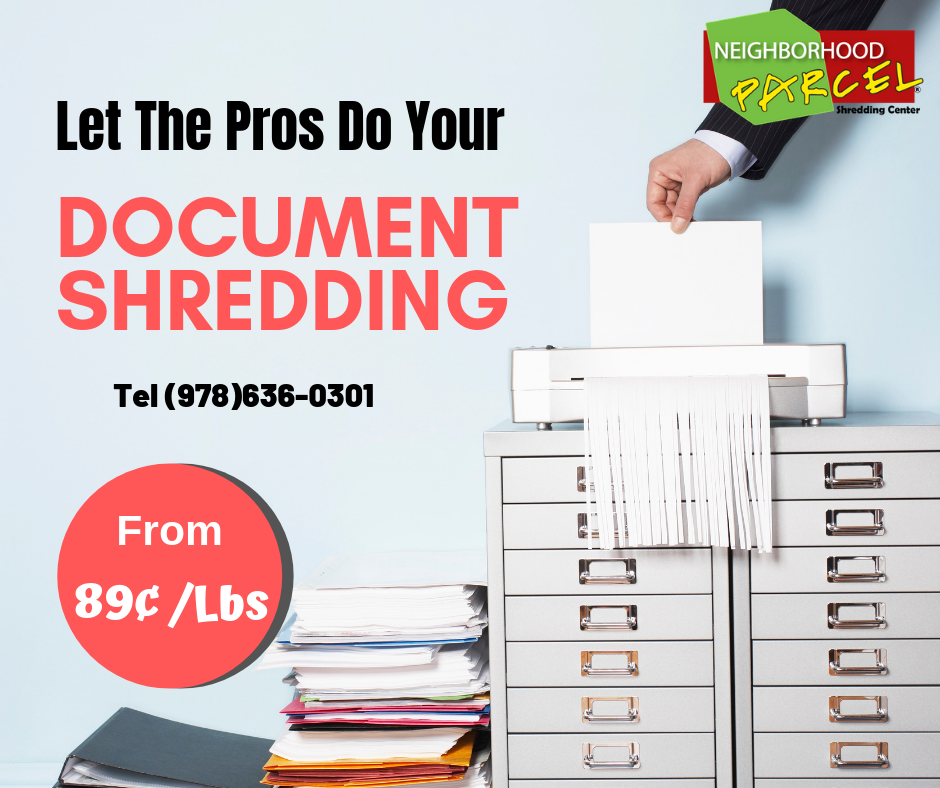 Boston Area Residential document shredding company