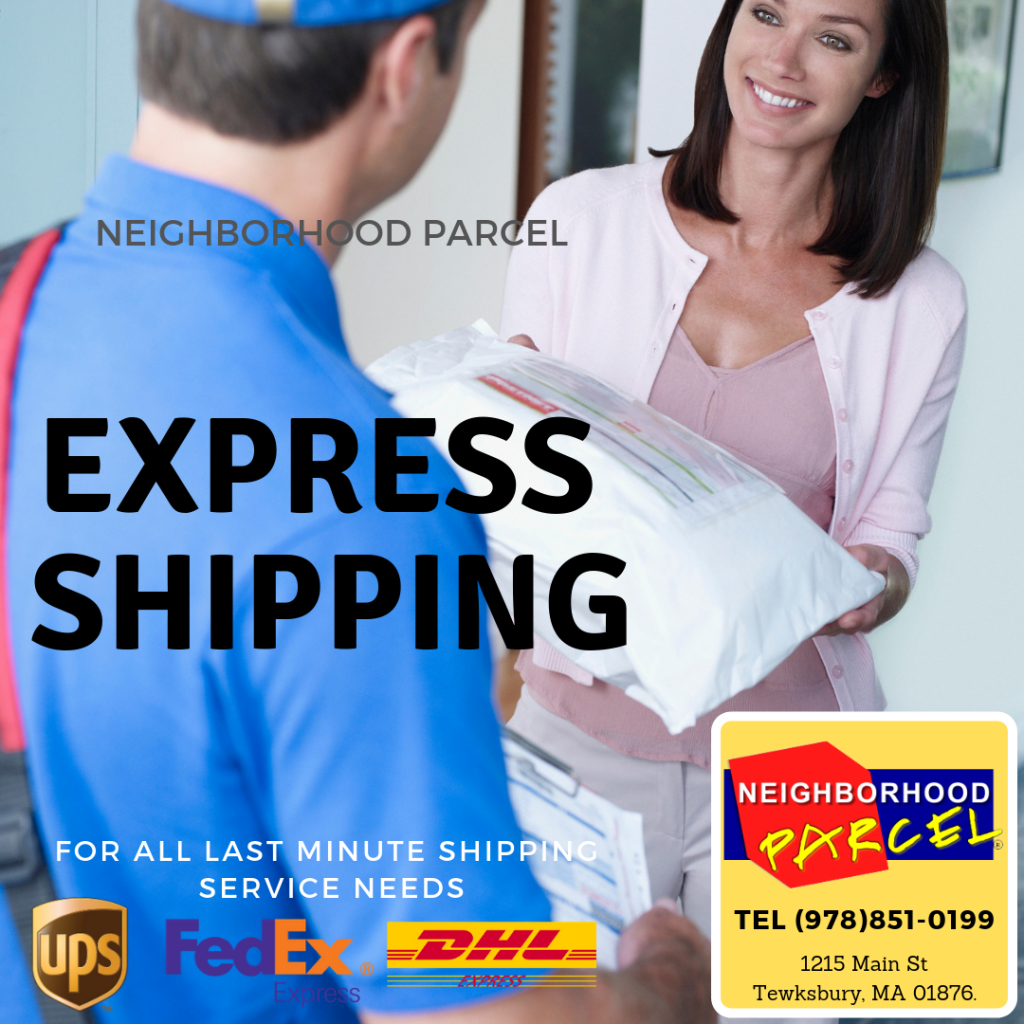 DHL International shipping Boston MA