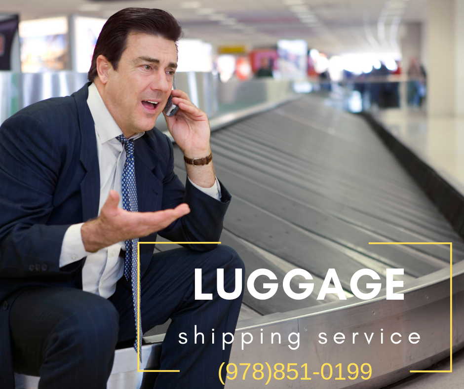 ship your luggage and golf clubs from Boston MA